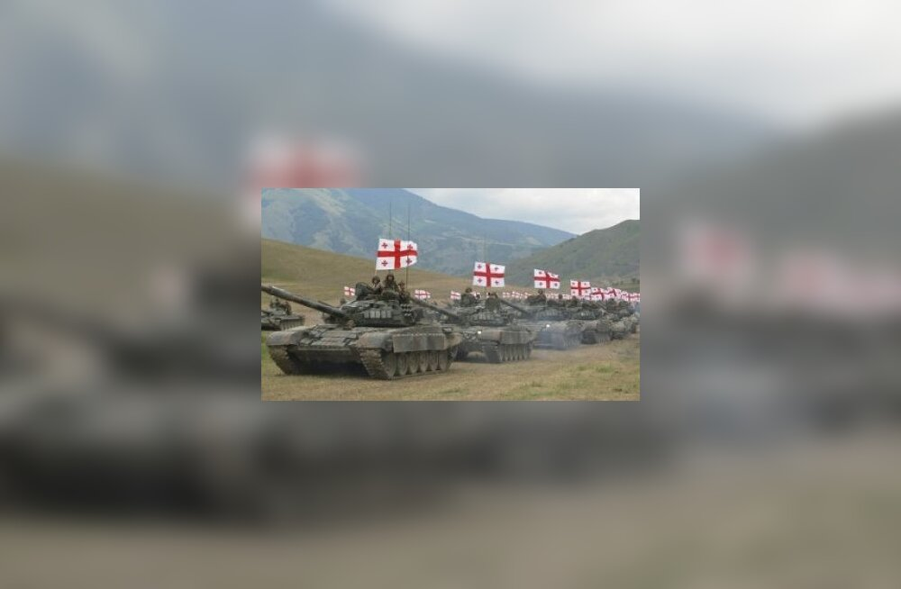 tank, soomuk, tehnika, sõjamasin, gruusia, sõda, kaukaasia, kolonn