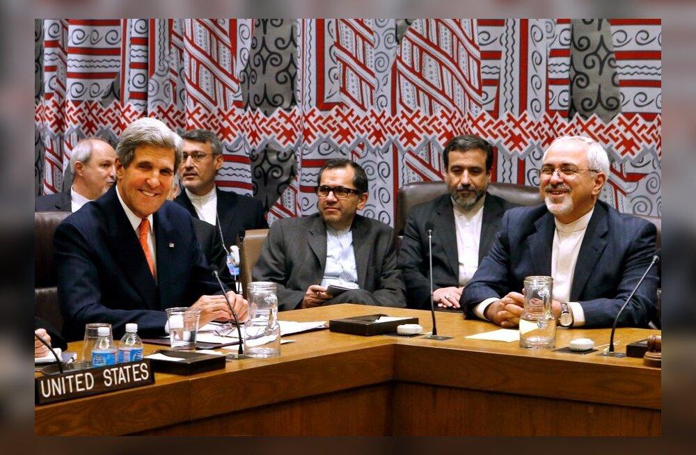Iraani ja USA välisministrid osalesid harukordsel kohtumisel
