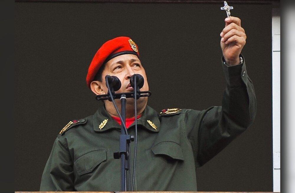 Chávez väljendas solidaarsust Gaddafiga