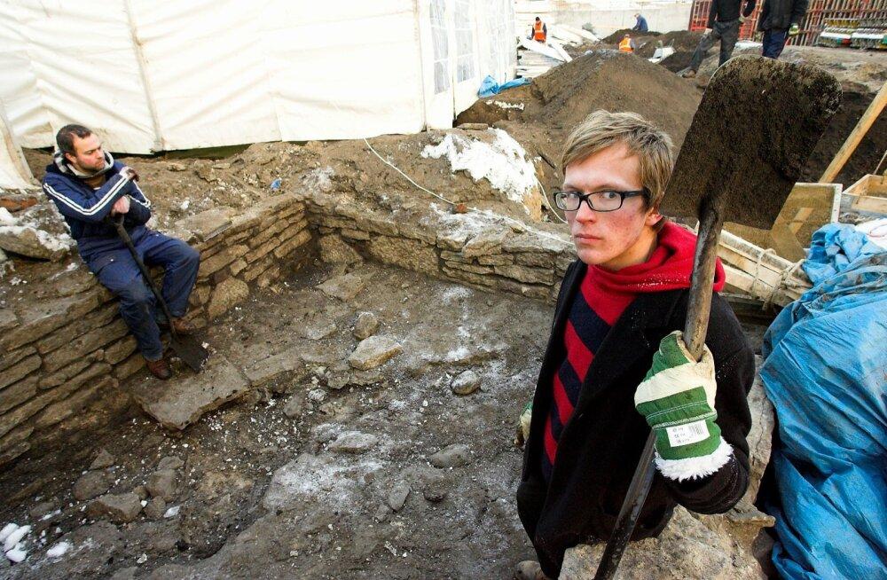 Iidne asulakoht tuli välja 2008. aastal, kui Vabaduse väljakul tehti enne ümberehitustöid arheoloogilisi väljakaevamisi.