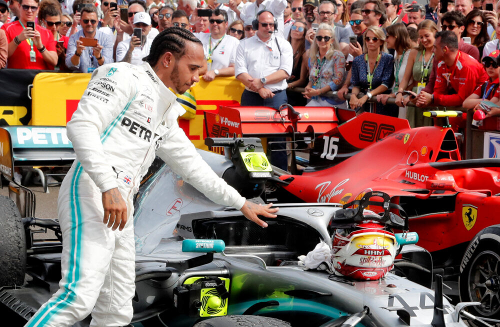 BLOGI | Mercedes võttis järjekordse kaksikvõidu, Hamilton kindlustas liidrikohta. Ricciardo sai tagantjärele karistada!