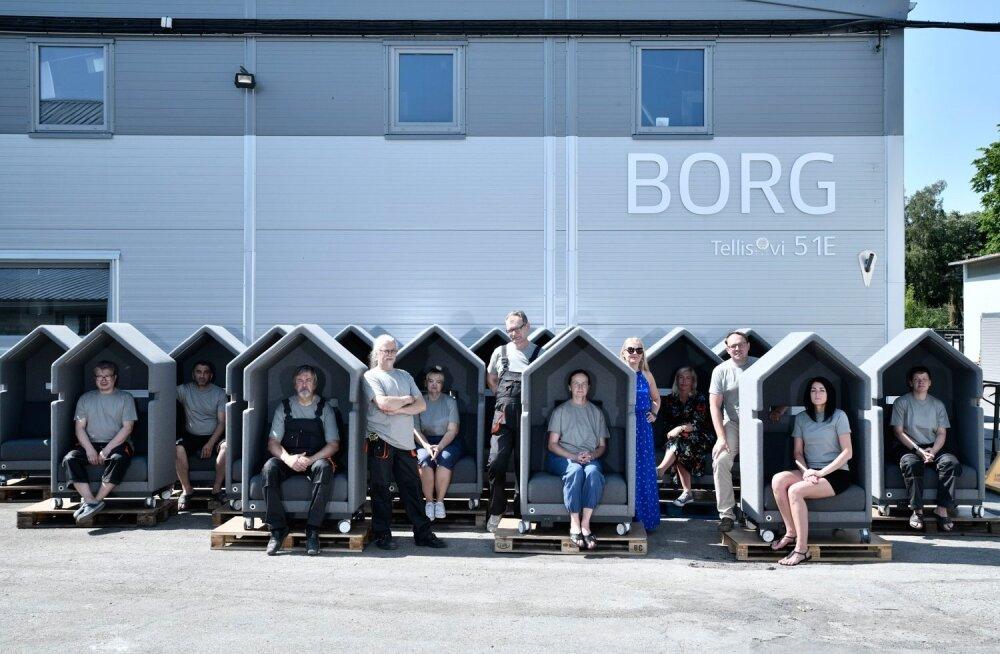 """Borgi töötajad ja Amazoni minevad """"väikemajad"""""""
