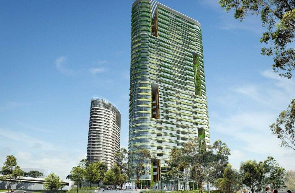 Из-за угрозы обрушения небоскреба в Сиднее эвакуировали около трех тысяч человек
