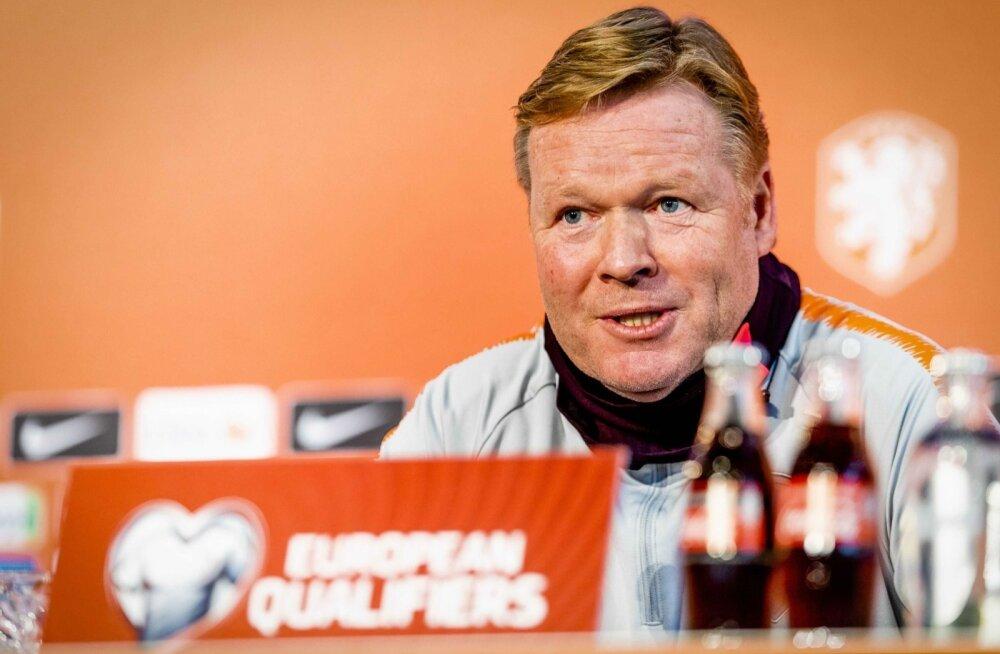Hollandi koondise peatreener tahab lüüa Eestile võimalikult palju väravaid.
