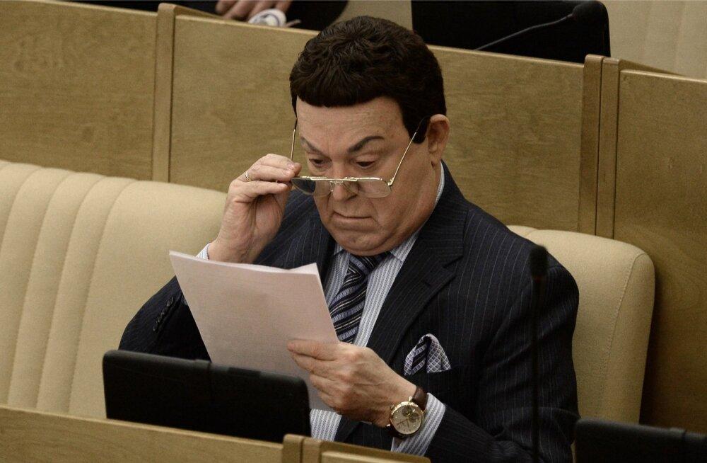 Euroopa Liidu uude sanktsioonidenimekirja sattusid Jossif Kobzon ja Venemaa asekaitseministrid