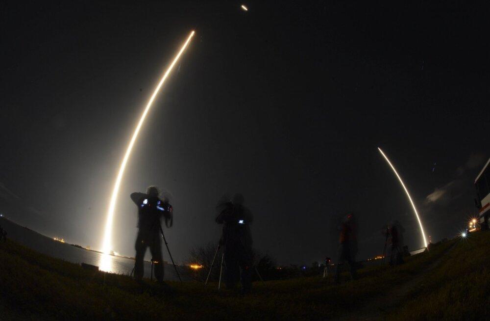 USA õhujõud kinnitasid, et paari nädala taguse segase saatusega salasatelliidi stardi puhul tegi SpaceX kõik õigesti