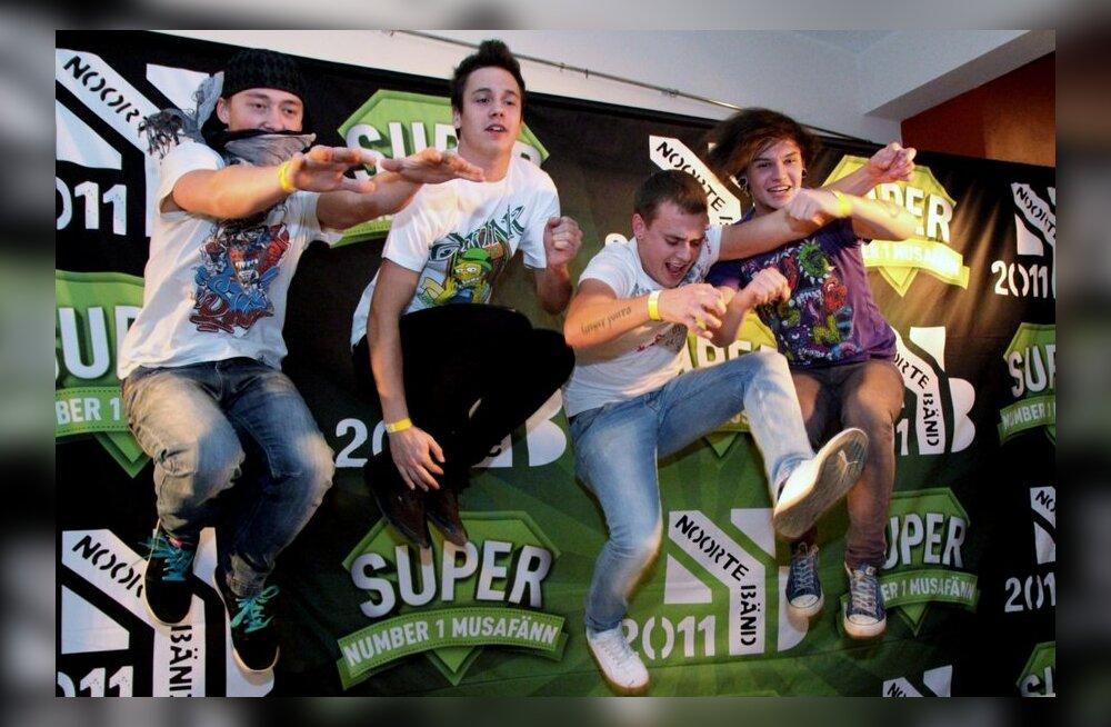 Algas publikuhääletus Noortebänd 2011 viienda finalisti selgitamiseks