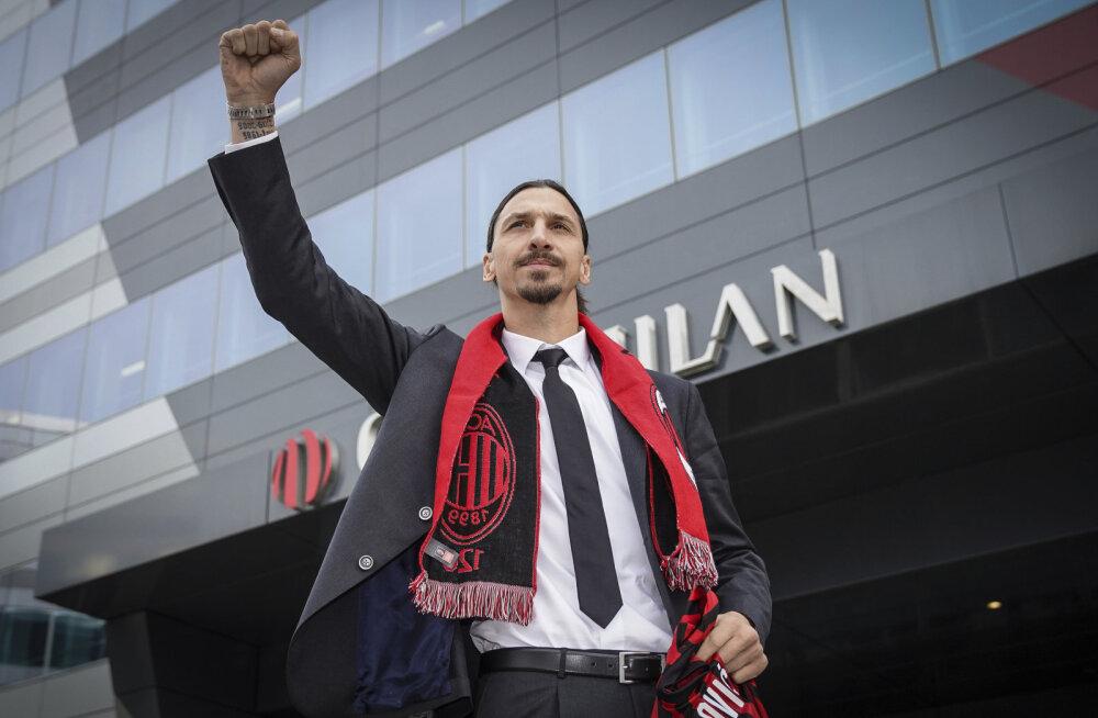 Itaaliasse naasnud Zlatan Ibrahimovic: ma ei tulnud siia, et maskott olla