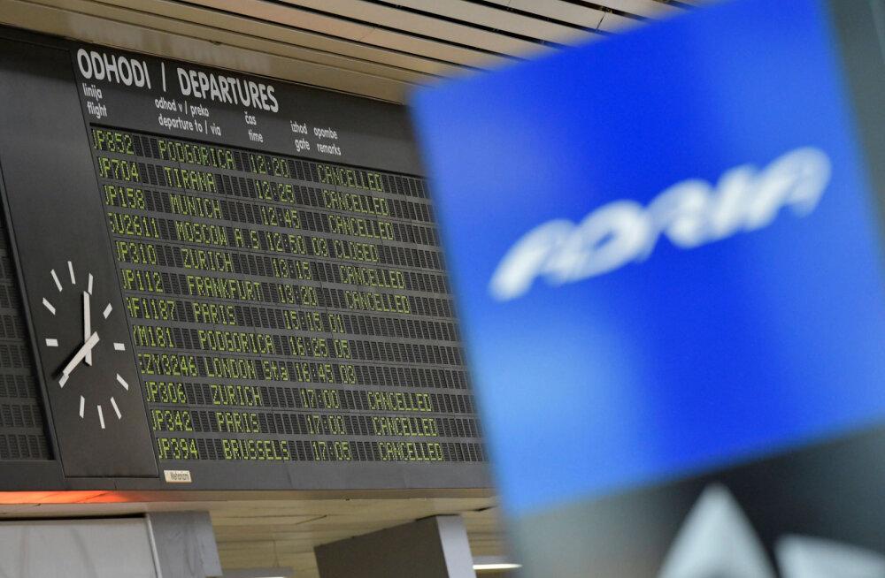 Словенская авиакомпания Adria Airways обанкротилась
