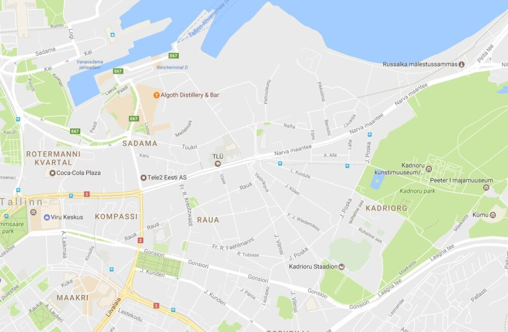 Kust kaardirakendus Google Maps oma liiklusinfo võtab?