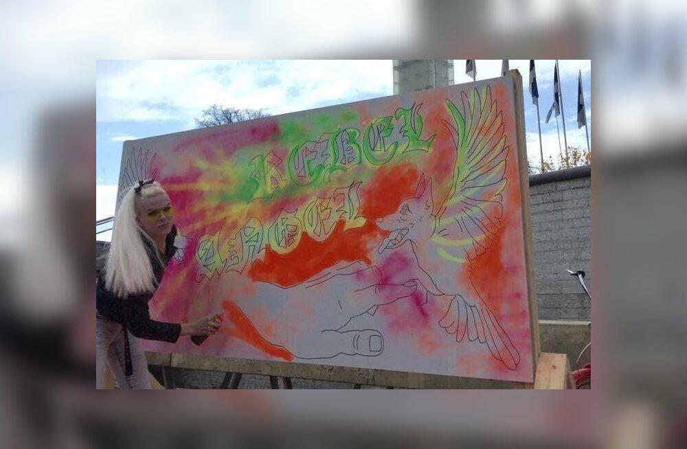 Rebel Angel Vabaduse väljakul