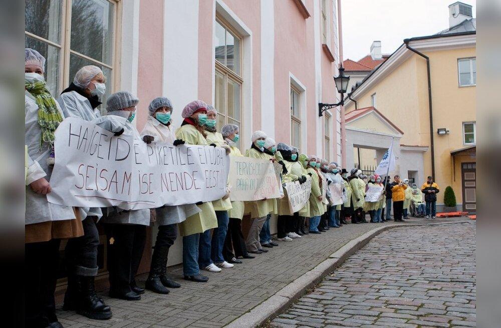 Arstide Liit: valitsus ei pea oma sõna