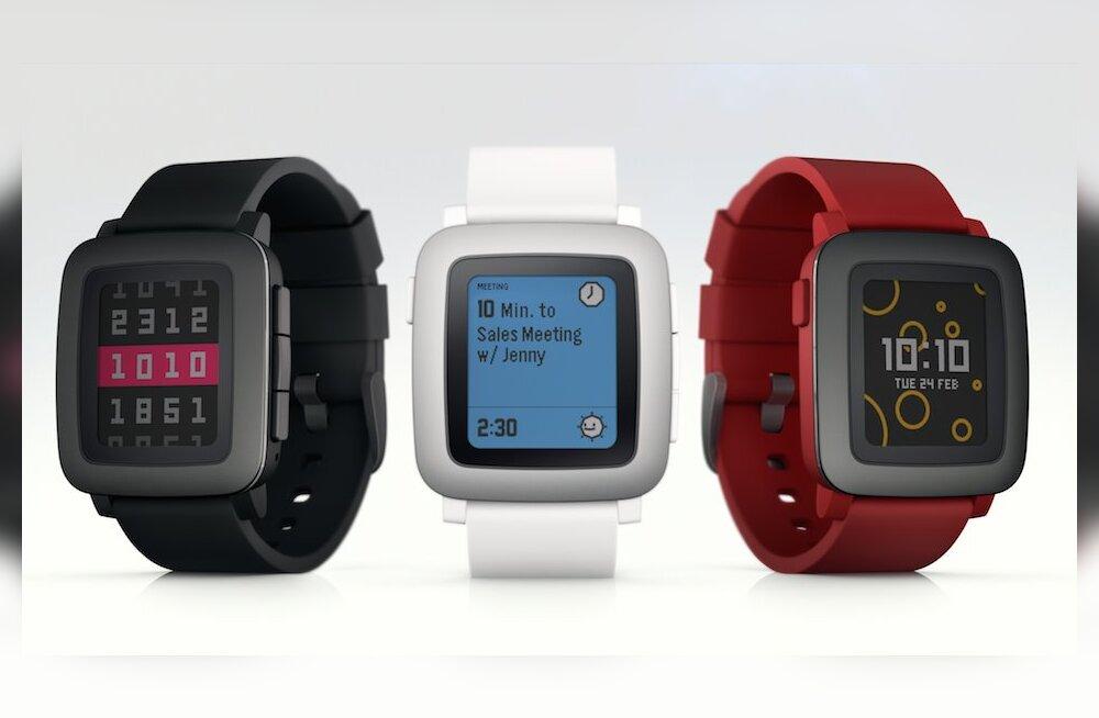 Apple'i Watch leidis ohtliku konkurendi: Pebble'i uus mudel on kahtlaselt edukas