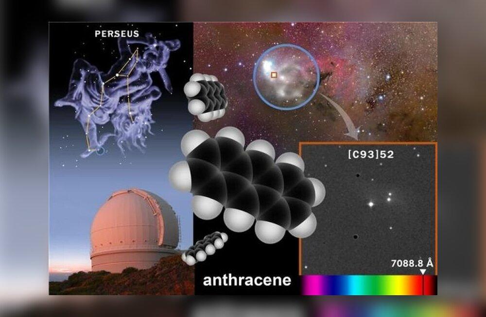 Kosmosest leiti keerukas orgaaniline molekul