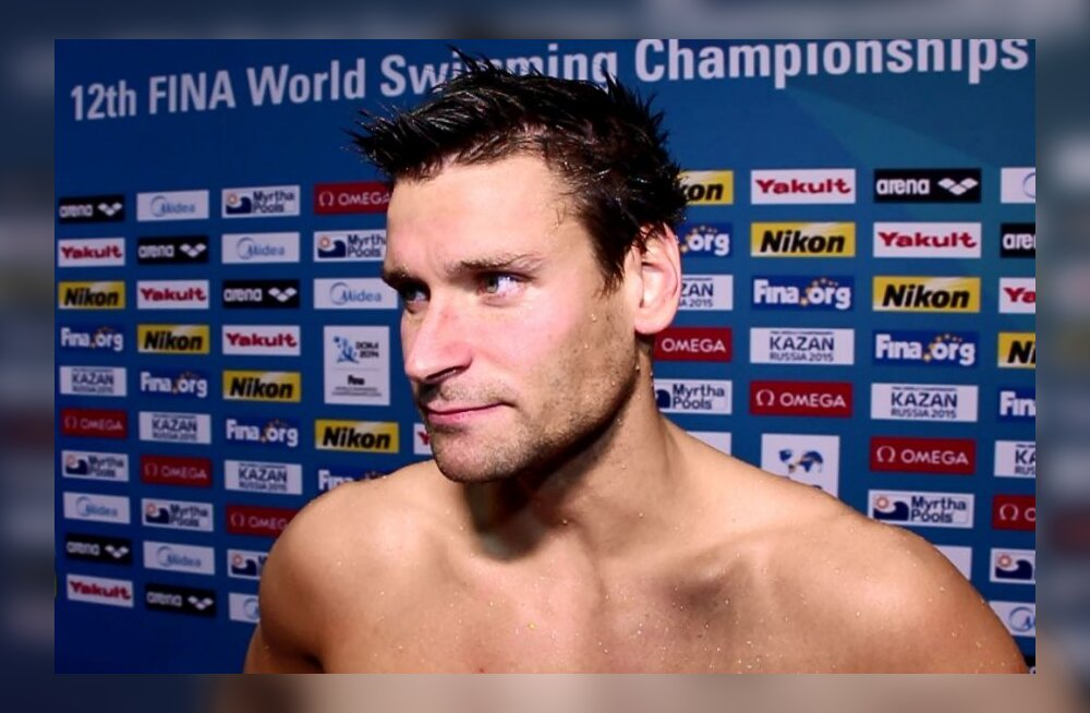 Martti Aljand ujumise MM-il Dohas