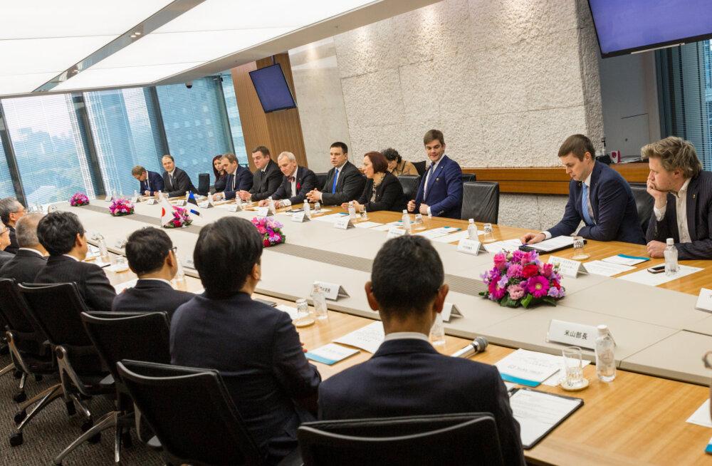 Эстония и Япония хотят более тесно сотрудничать в сфере ИТ и зеленой энергии