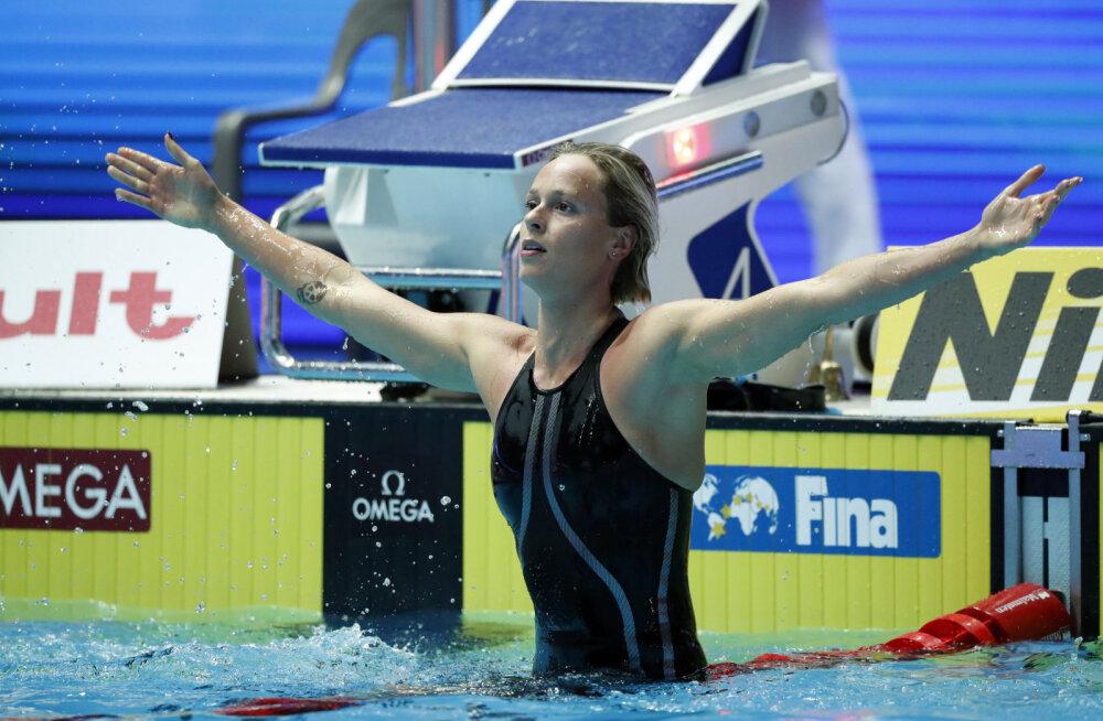 Maailmarekordiomanik olümpia edasi lükkamisest: uskumatu, et pean veel ühe aasta ujuma