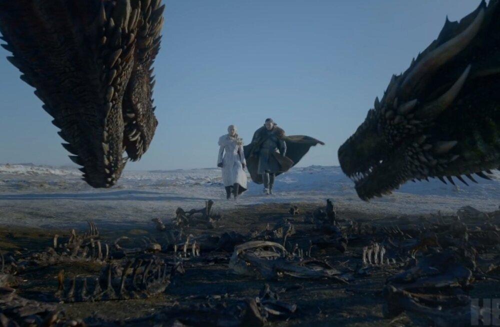 """ВИДЕО: """"Я знаю смерть, у нее много лиц"""". Появился эпичный трейлер финального сезона """"Игры престолов"""""""