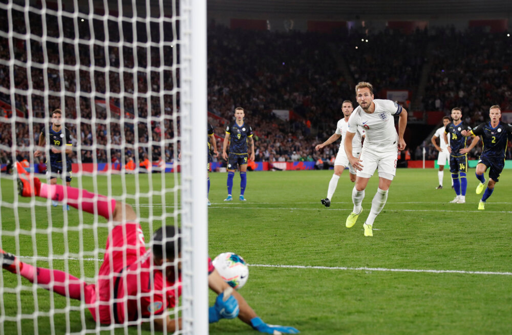 EM-valiksari: Inglismaa ja Kosovo lõid kahe peale kaheksa väravat, Ronaldo säras nelja tabamusega