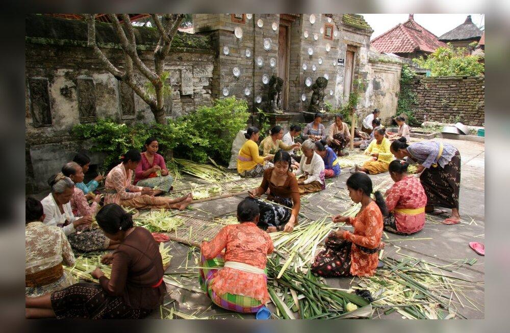 Jõulud Bali saarel: pühad on, aga hoopis teisel põhjusel