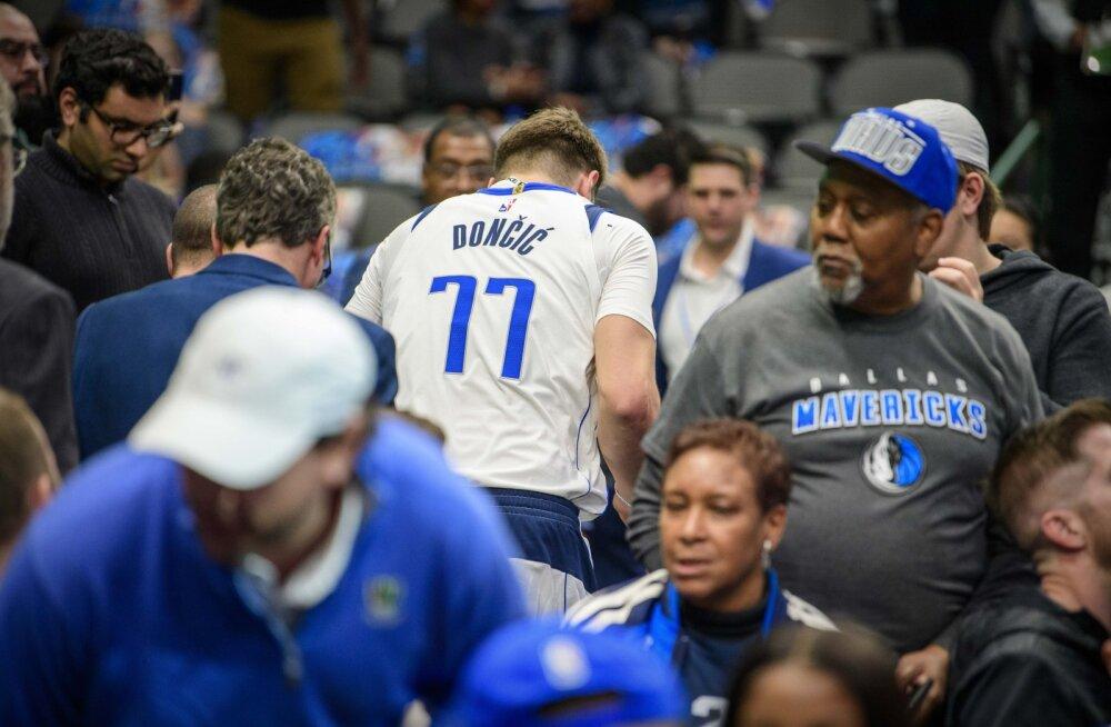 Milwaukee Bucksi vägev seeria jätkus, Luka Doncic sai vigastada