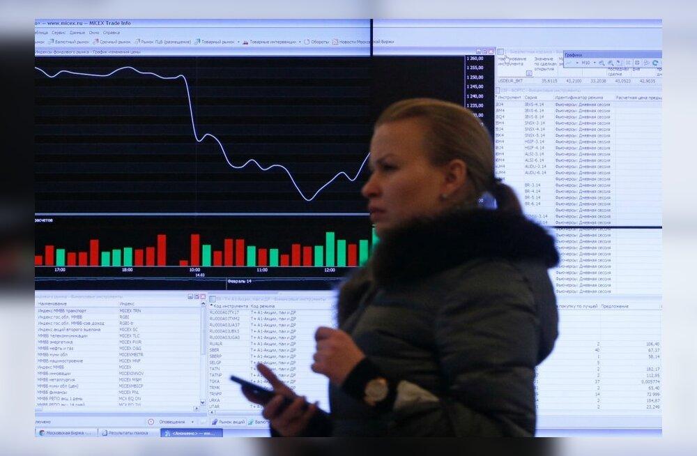 Moskva börsi tabloo