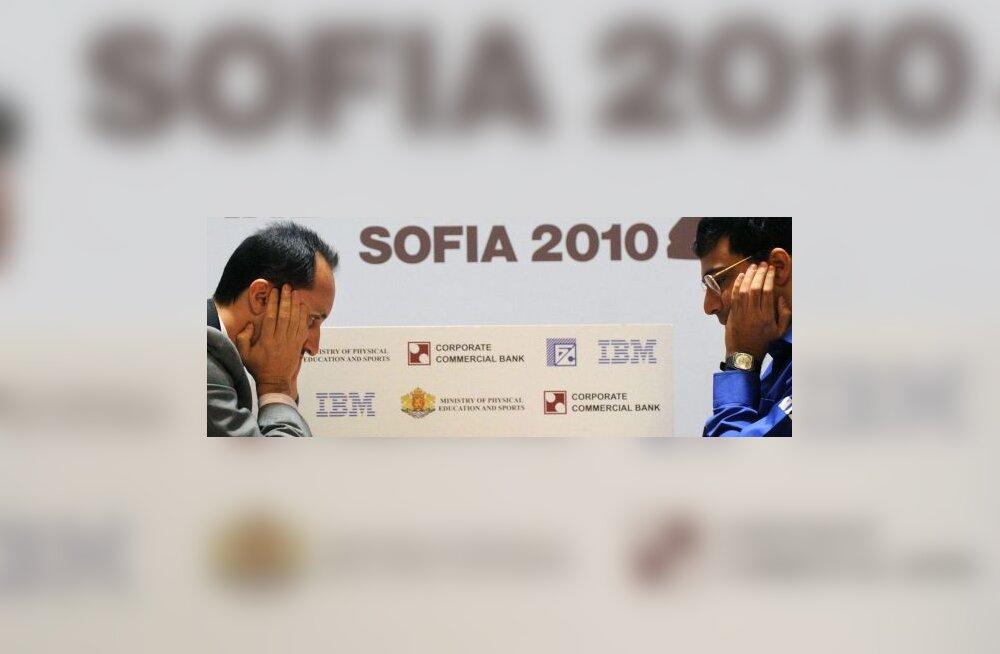 Veselin Topalov ja Viswanathan Anand