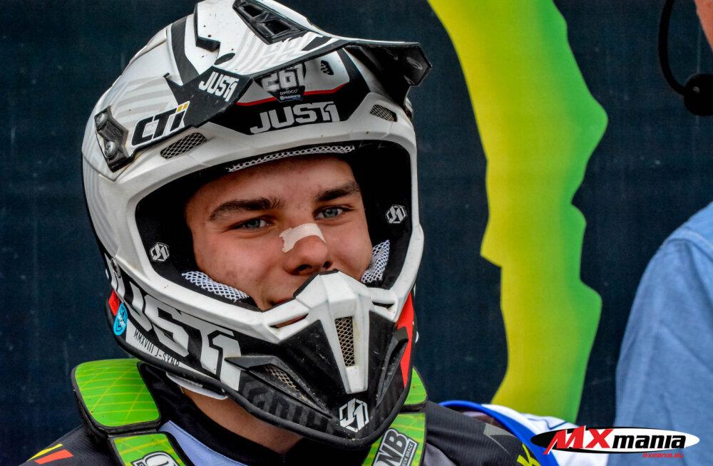Jörgen-Matthias Talviku tuli Saksamaal EMX125 klassi etapil viiendale kohale