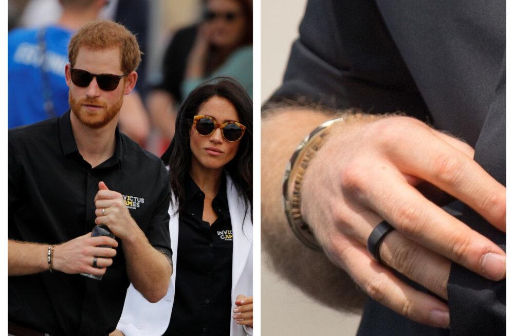 Vahva! Prints Harry sõrmes ilutseb Soomest pärit nutisõrmus. Miks ta seda kannab?