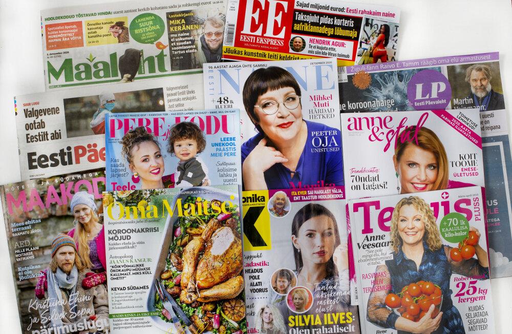 Ekspress Meedia väljaanded