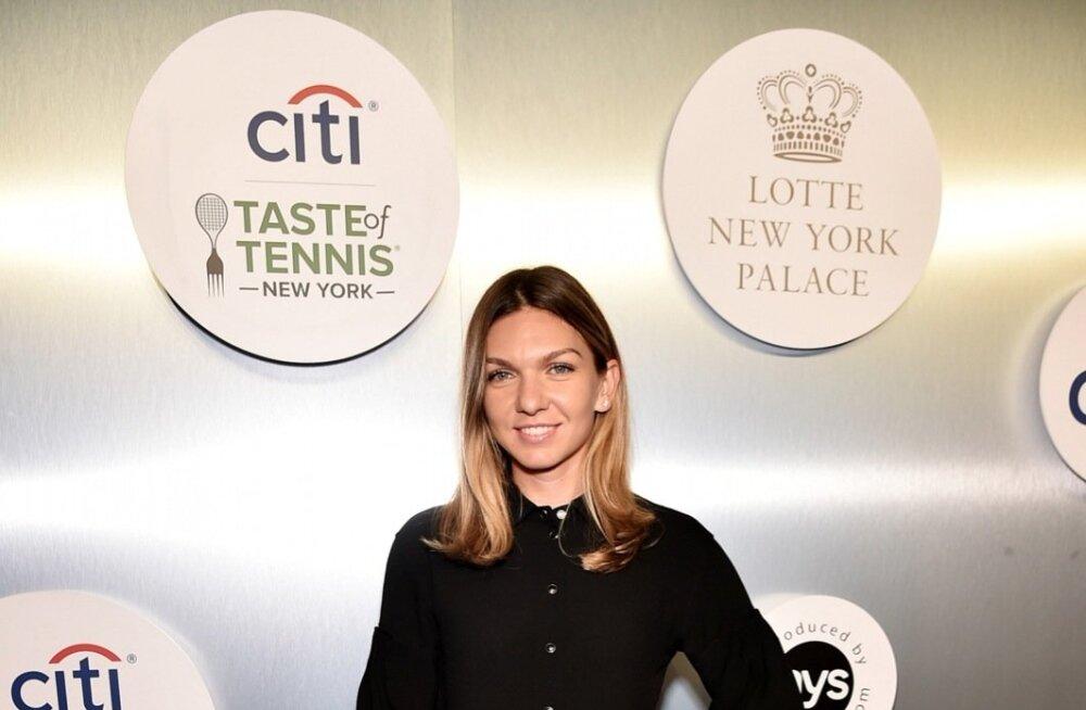 Simona Halep US Openi eelsel galal
