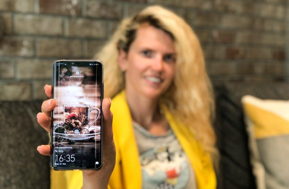 Kristel Kruustük ja tema ustav töökaaslane Huawei Mate 20 Pro