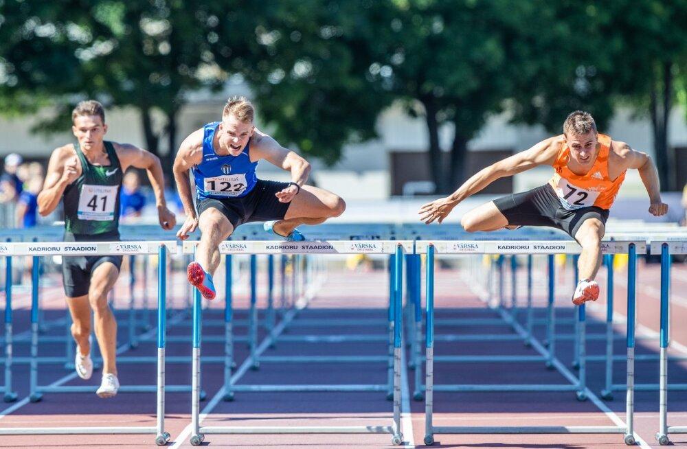Eesti kergejõustiku meistrivõistlused Kadrioru staadionil