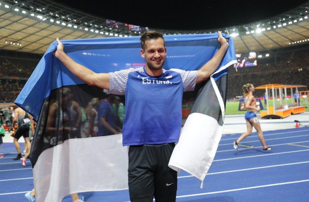 Magnus Kirt võitis Berliini EM-il odaviskes pronksmedali.