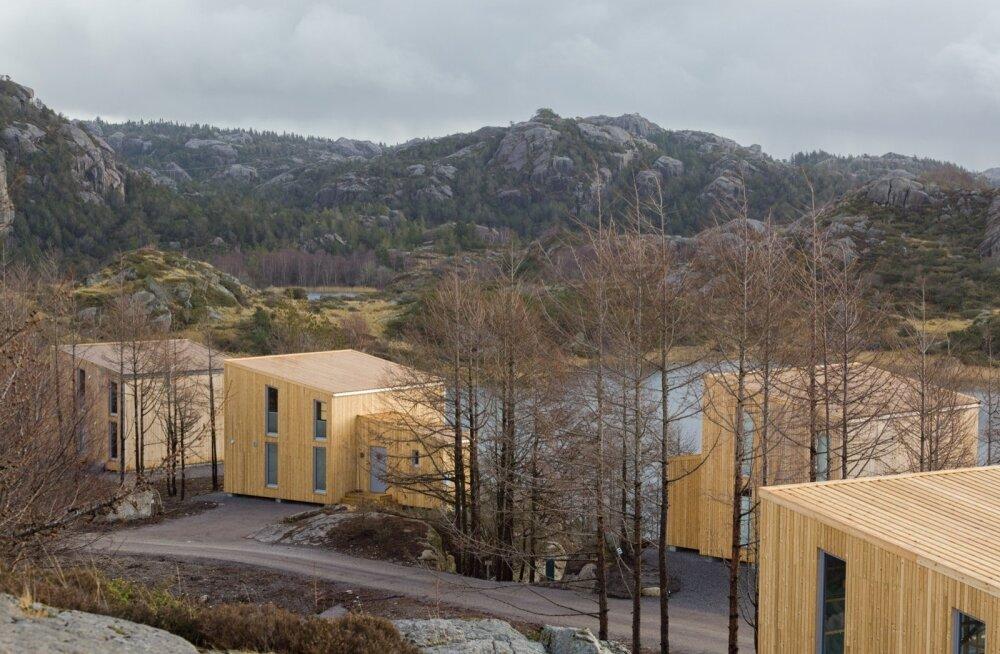 Nordic Houses KT OÜ. Vabaaja-majade arendusprojekt Norras, puitkarkass-elementmaja