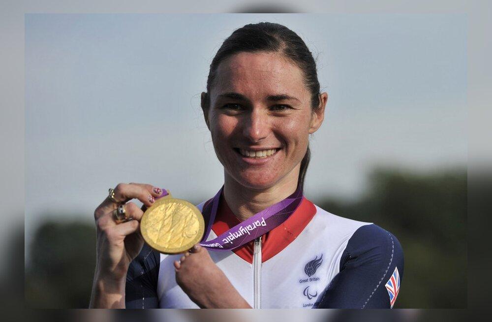 Sarah Storey võitis paraolümpiamängudelt 11. kuldmedali