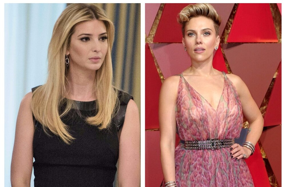 NAISTE KÄTŠ? Scarlett Johansson ründas naiste konverentsil Ivanka Trumpi: ta on arg ja pettumust valmistav