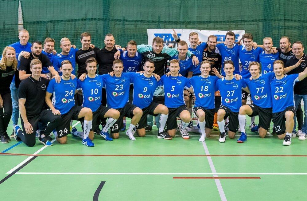Koosseis oktoobris Tallinnas peetud Eesti-Hollandi mängudel.