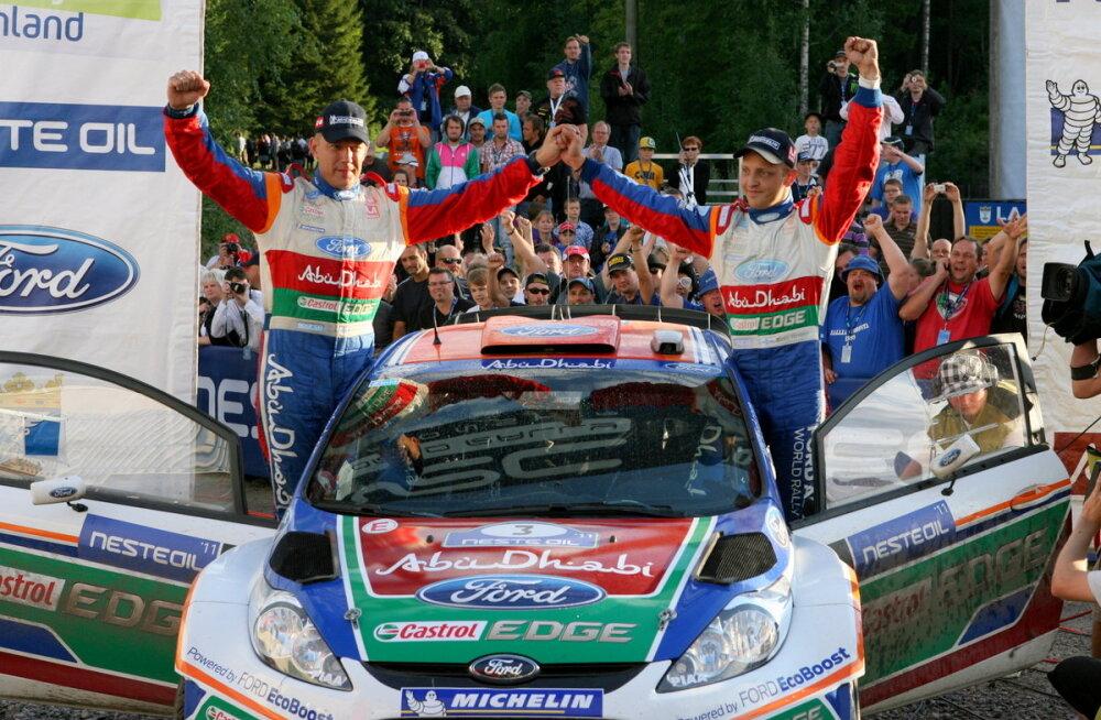 Uhke! Lõuna-Eesti etapil stardib Soome rallilegend Mikko Hirvonen