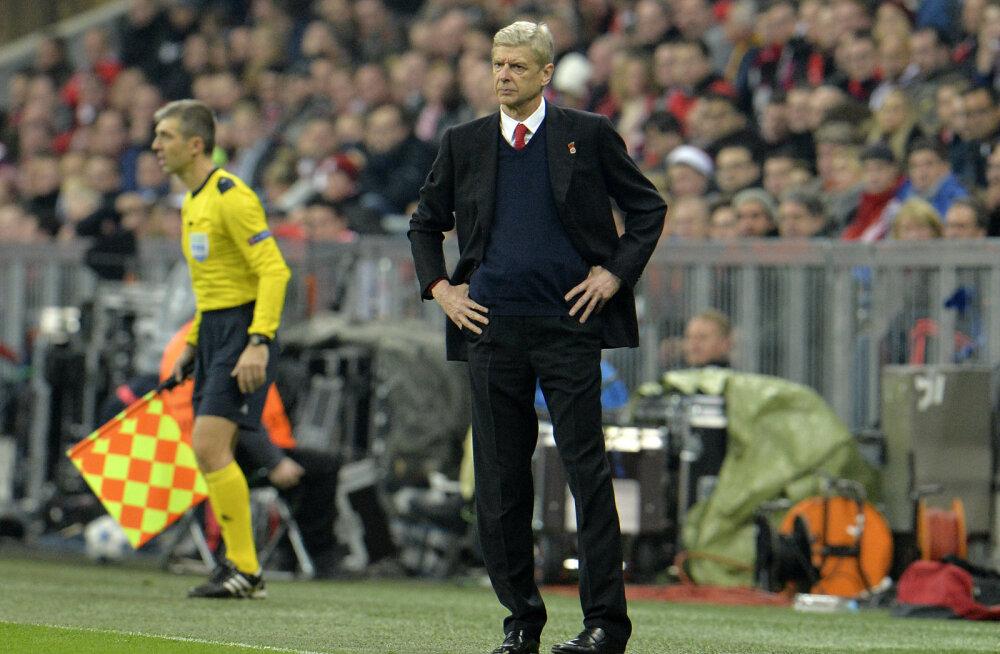 Wenger pärast 1:5 hävingut: ma ei mäleta, kas oleme kunagi kaitses nii kohutavalt mänginud