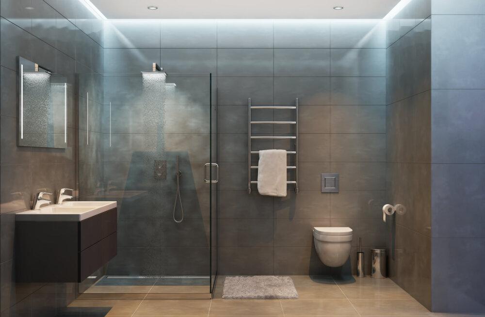 Milline on uues vannitoas parim dušinurga lahendus?