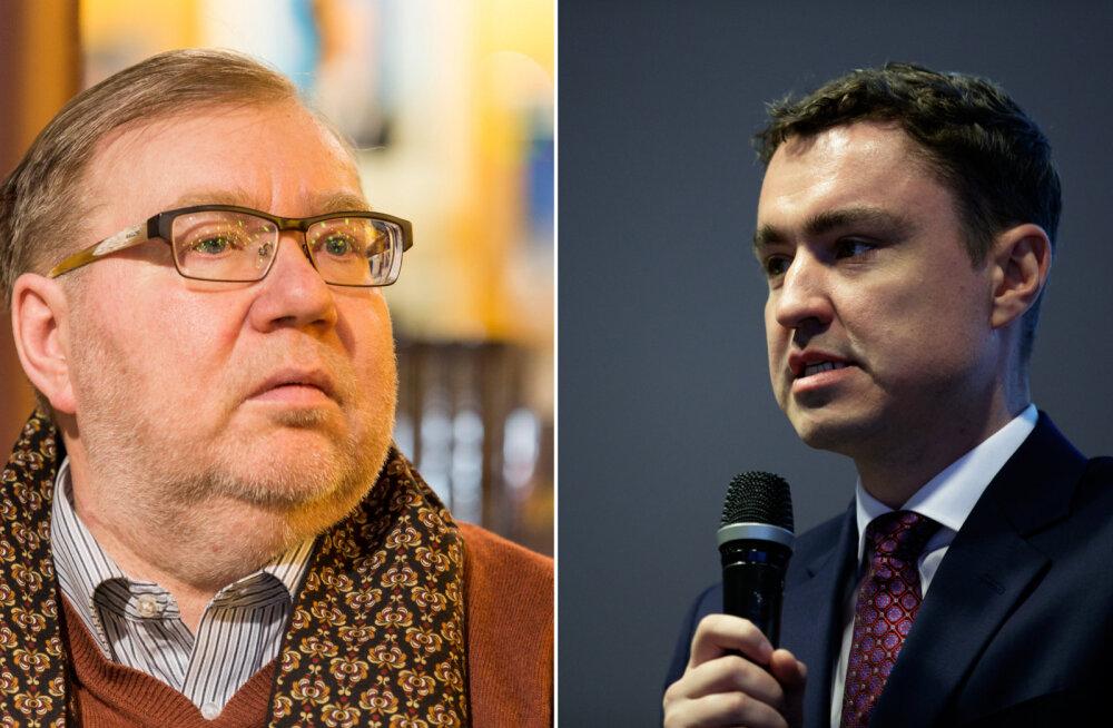 Ekspeaminister Rõivas kritiseerib Mart Laari personalipoliitikat Eesti Panga nõukogus