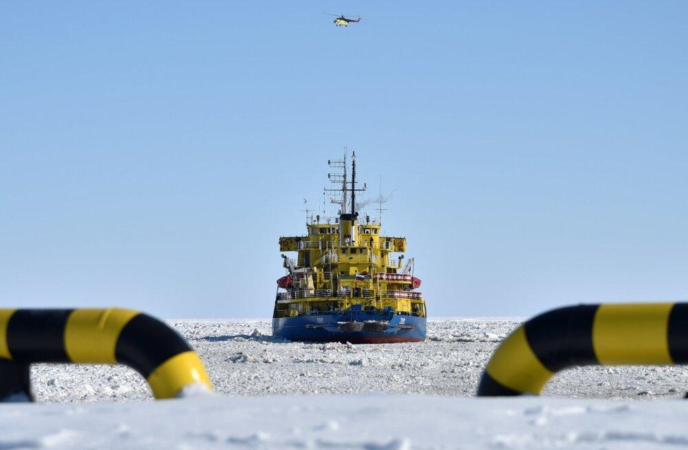 Vene ametkonna teatel saatis jäälõhkuja Norra ranniku lähistel hädasignaali välja kogemata