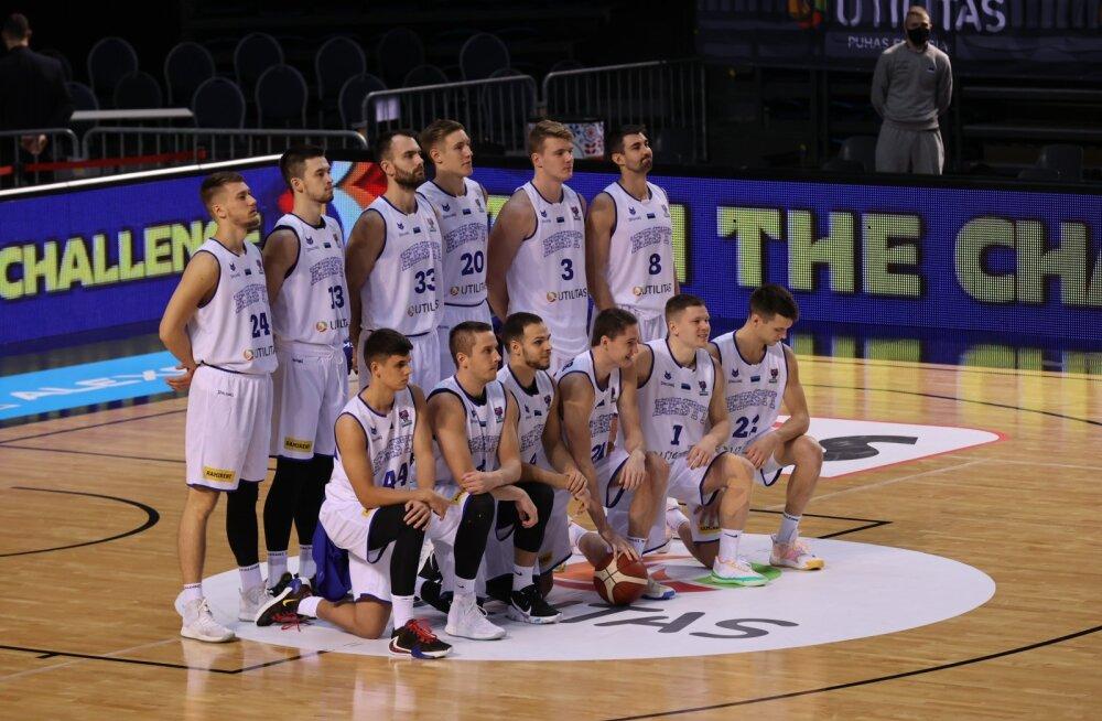 Põhja-Makedoonia ja Eesti korvpallikohtumine jäetakse koroonaviiruse tõttu ära