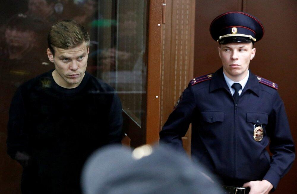 Jalgpallur Aleksandr Kokorin kohtus