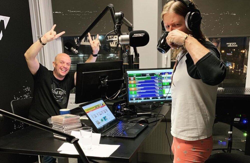 Rock FMi hommikusaatejuhid ei julge eelmisel õhtul enam veini juua: kui midagi on pekkis, saab sõimata, nii et seda nägu