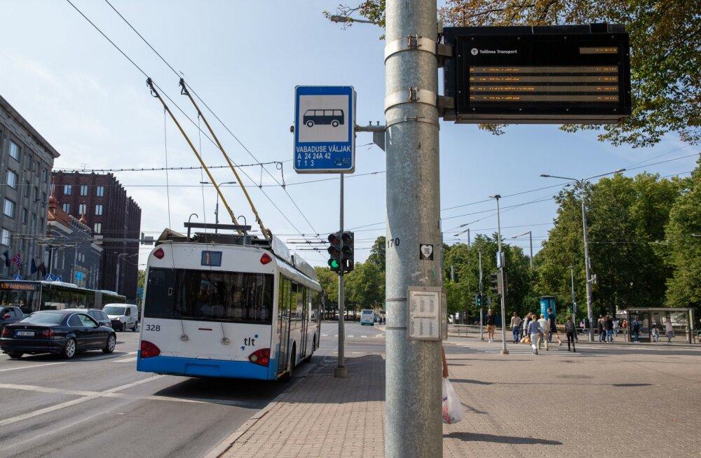 Kesklinna bussi ja trammipeatused