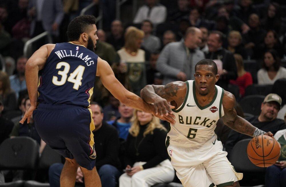 Võiduseeriat pikendanud Milwaukee Bucks näitas, et saab ka põhistaarita hakkama kui vaja