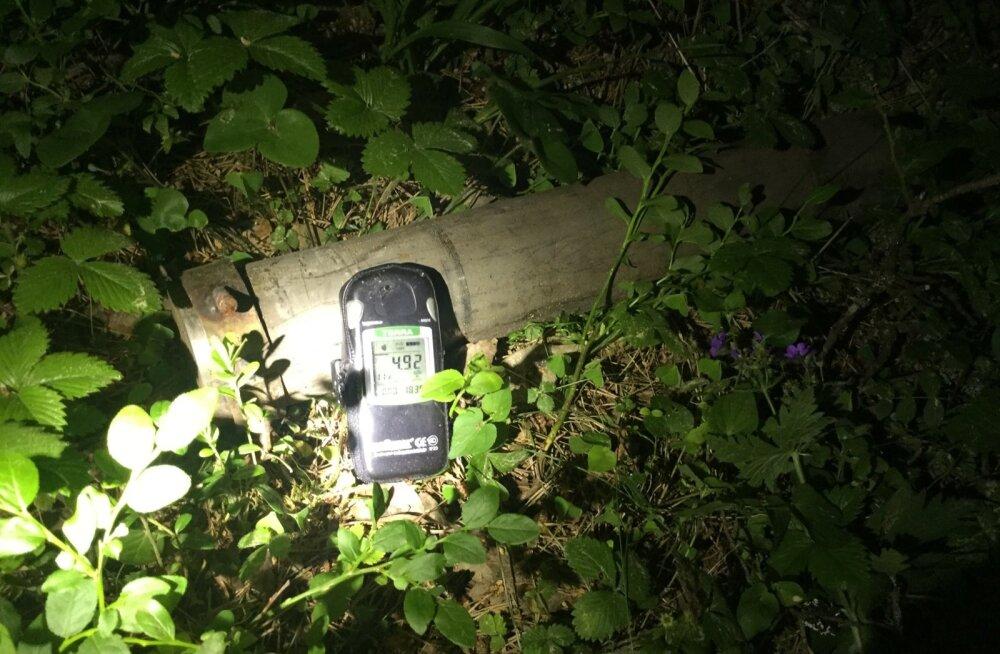 ФОТО И ВИДЕО: В волости Саку найден контейнер с радиоактивным веществом