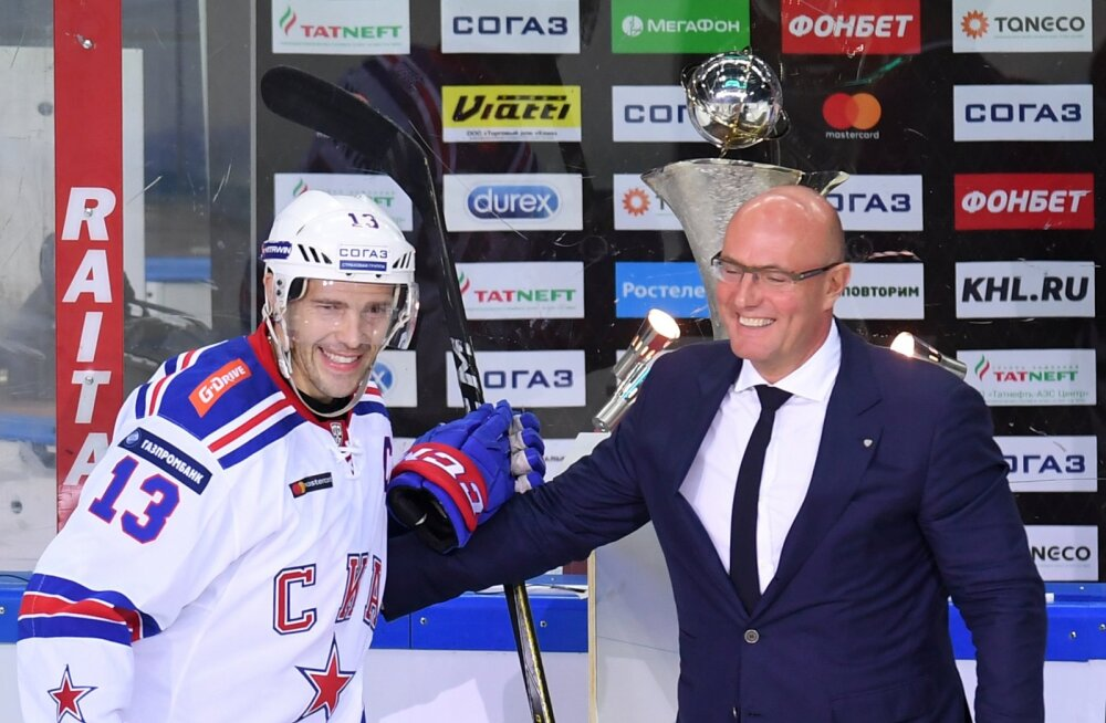 Peterburi SKA mängumees Pavel Datsjuk